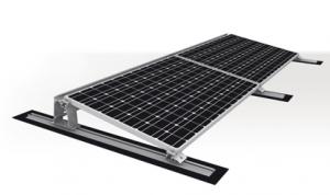 K2 System Napelem tartószerkezet lapos tetőre
